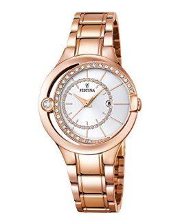 Reloj de señora acero rosa Festina F16949-1