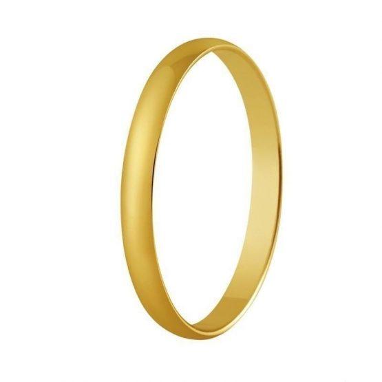 Alianza Oro de ley Clasica 2,50 milimetros