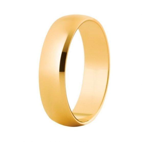 Alianza Oro de ley Clasica 5 milimetros